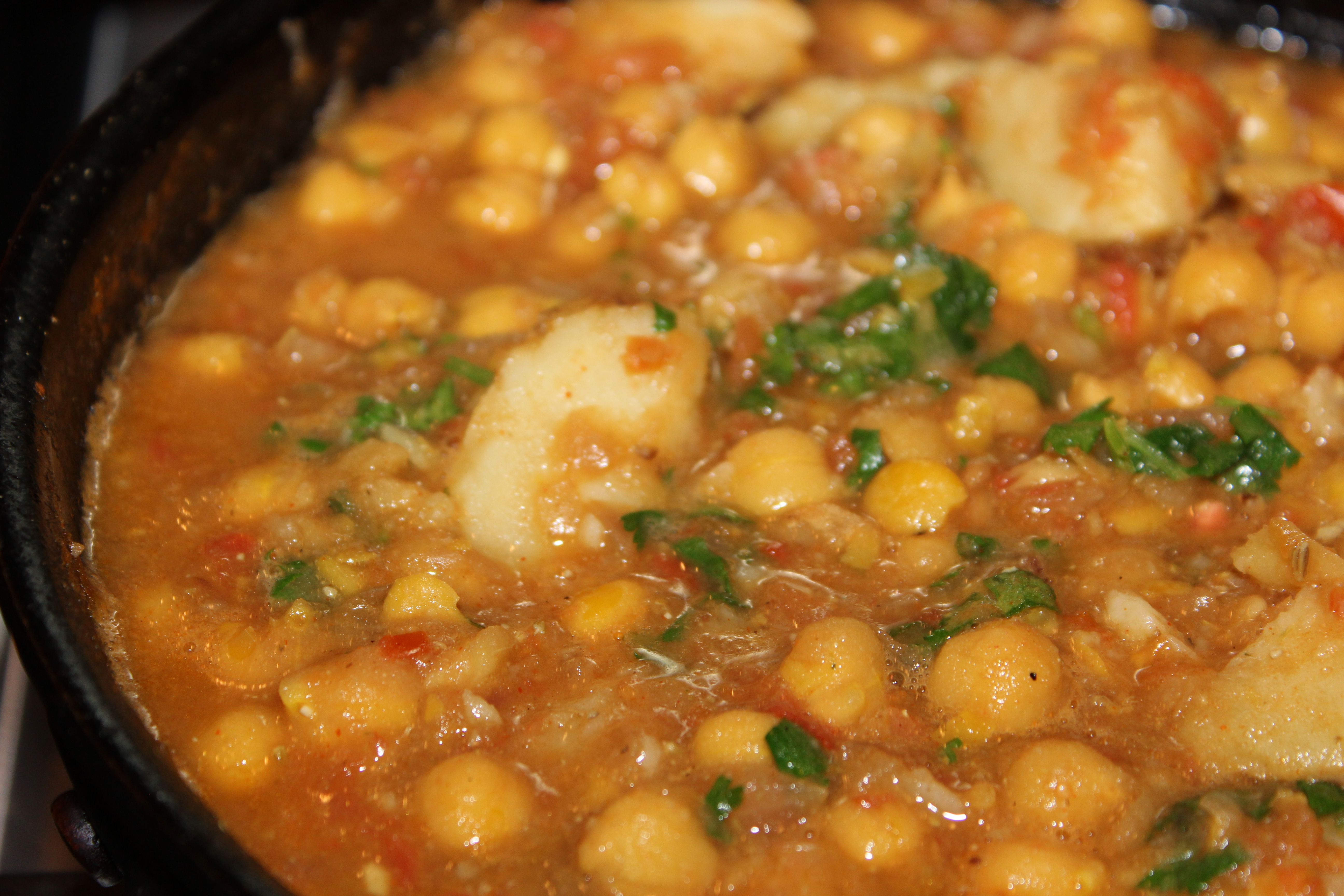 Chickpeas for Comfort: Spicy Channa Masala | madame scientist's not-so ...